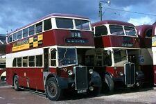 Reading Crossley ERD162 and AEC MRD146 Bus Photo