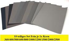 MIRKA Wasserfestes Schleifpapier Nassschleifpapier 140x230mm P2000