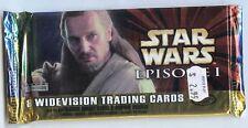 BOOSTER de 8 Cartes STAR WARS Episode 1 serie 1 ( Neuf