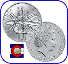 2011 Silver Britannia UK 1oz £2 Coin in airtite capsule