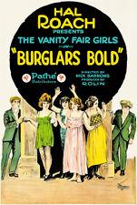 Burglars Bold - 1921 - Movie Poster