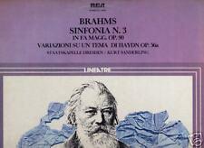 LP RCA BRAHMS SINFONIA NUMERO 3