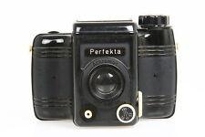 VEB Rheinmetall Perfekta Rollfilmkamera mit Achromat 7,7/80mm