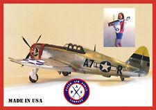 Paper Air Force P-47 Thunderbolt Model Kit - New kit!