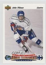 1991 Upper Deck French #673 Juha Ylonen Team Finland (National Team) Hockey Card
