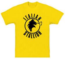 Italian Stallion Rocky Balboa Yellow Italy Cool T Shirt
