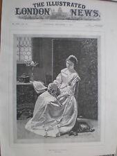 The Memory of an Old Song E Klimsch 1894 print