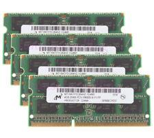 Micron 8GB 4GB 2RX8 DDR3 1333MHz PC3-10600 204PIN SO-DIMM Laptop Memory RAM 4 GB