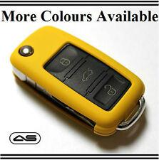 Amarillo clave Cubierta Vw Seat Skoda caso Protector GT GTI R línea FSI Tdi TSI R20 N27