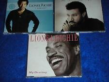 lot 3 CD maxi single LIONEL RICHIE my destiny I FORGOT love oh love
