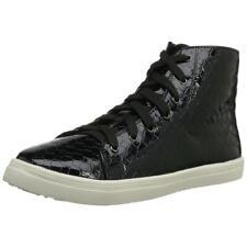 N.Y.L.A. Jillanna Women's Black Patent Fashion Sneaker
