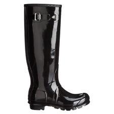 Hunter Original Tall Gloss Black Wellies Womens Rainboots
