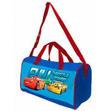 Disney/PIXAR CARS (0507)- Sport Travel Shoulder Hand Bag -Size Approx:38x20x23
