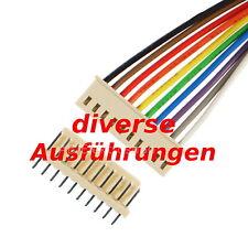 Platinen Steckverbinder  2-10 pin Platinenstecker Pfostenstecker Anschlusskabel