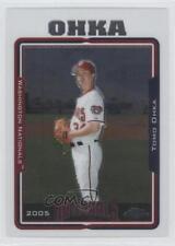 2005 Topps Chrome #356 Tomokazu Ohka Washington Nationals Baseball Card