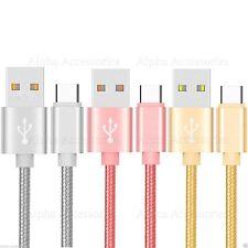 USB 3.1 Typ C geflochten Datenkabel Schnellladegerät Ladekabel 1 Meter Typ C