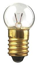 E10 6.3V 0.3A 300mA 1.9W Miniature flashlight lamp light bulb Incandescent