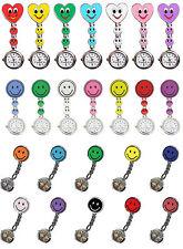 Reloj Enfermera Smiley Clip de Original Tiga-Med