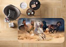 3D Corsa Cavallo 023 Pavimento Antiscivolo Tappeti Elegante Tappeto IT Cobb