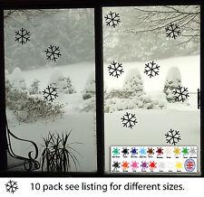 Christmas Snow Flake Window Sticker Wall Decal Transfer Xmas Decorations