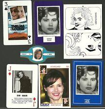 Geena Davis CARDS! Fab Card Collection LOT