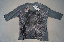 TAIFUN T-Shirt / Pailletten Shirt Gr.40 grau  *NEU!*