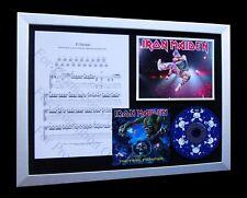 IRON MAIDEN El Dorado LTD Numbered CD FRAMED DISPLAY!!
