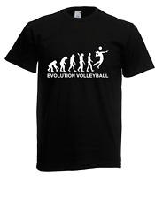 T-shirt da uomo evolution pallavolo i proverbi i divertente i Fun i a 5xl