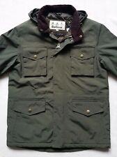 Barbour Jersey Men's Insulated Waterproof Jacket - Olive, Size Medium