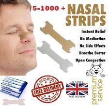 5- 1000 Nasal Nose Sleep strips better breathe Stop Snoring Breath Easier Uk p&p