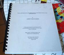 Visual Mechanisms/Predictors of Far Field Visual Task Performance Dissertation*