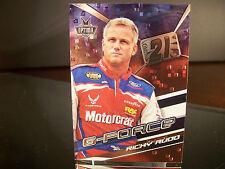 Rare Ricky Rudd #21 Motorcraft Press Pass Optima 2005 Card #GF 3/6 G-FORCE