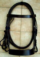 Quality Pony Hunter Bridles.  Black or Havana