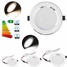 LED Recessed Ceiling Downlight Dimmable White Lamp 18W 15W 12W 9W 7W 5W 3W GL107