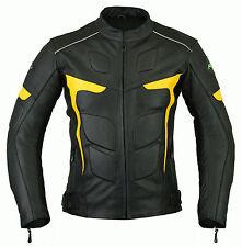 Da uomo RIDEX LJ-2Y Motociclista Moto Giubbotto Moto In Pelle CE Armours