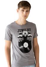 Selecta Vinyle T Shirt JUNGLE MASSIVE LP Vinyle Drum & Bass Music Festival Homme