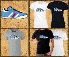 Manchester City Samba Trainer T-Shirt (Man City MCFC) Mens & Ladies Sizes