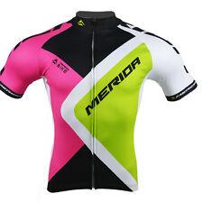 Merida Mountain Bike Jersey Reflective Mens Cycling Tops Vintage Cycling Shirt