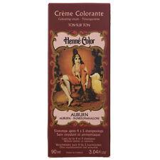 Henné Coloration Cheveux Couleur Crème Liquide Auburn Noir Marron Cuivre Blond