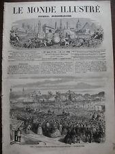 MONDE ILL 1866 N 470 LA FOIRE AU PAIN D' EPICE A PARIS