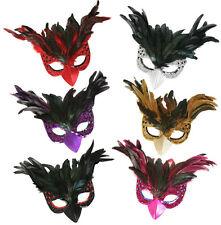 Domino Federdomino mit Schnabel Vogelmaske Augenmaske Maske 126789913