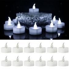 12er-Set Elektrische LED Flammenlose Teelichter Kerzen für Halloween,