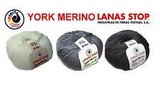 50g YORK MERINO LANAS STOP Extrafine Superwash Merinowolle  feinstes Edelgarn