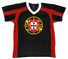 Portugal Coat of Arms Shield Sphere Portuguese Symbol PRT Men's V-Neck Sport Tee