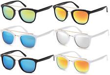 GIL Design Sonnenbrille Schwarz Weiß Verspiegelt G2 NEU