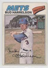 1977 O-Pee-Chee #172 Bud Harrelson New York Mets Baseball Card