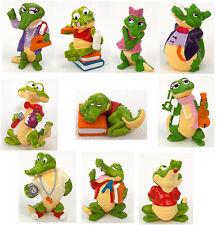 Überraschungsei Figuren Kroko Schule 1991 Auswahl UeEi Krokodile
