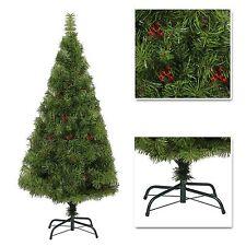 4ft 5ft 6ft 7ft Desiner Luxurious Artificial Christmas Tree Boulder Pine & Berry