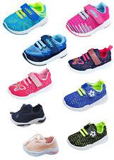 Kinder Stoff Schuhe Hausschuhe Klett Sneaker Freizeit Kita Babyschuhe Gr.19 - 25