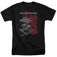 Atari 2600 Video Computer System Gamer Licensed Adult T Shirt
